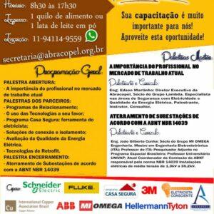 Recife sediará Encontro de Profissionais Eletricistas