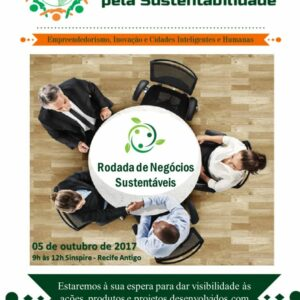 Rodada de Negócios discutirá sustentabilidade