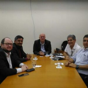 Representantes do CGU/PE propõem celebração de parceria com o CREA-PE