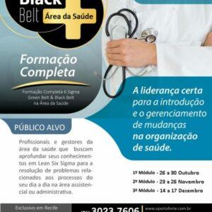 OPortoForte oferece curso Lean 6 Sigma Green Belt Área da Saúde