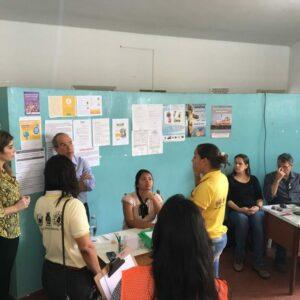 Segunda reunião com lideranças locais, coordenador do Projeto Mata Sul e voluntários foi realizada na terça-feira