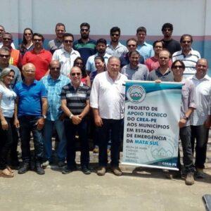 Projeto Mata Sul do CREA-PE chega ao município de Cortês último contemplado pela iniciativa