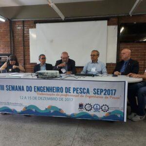 Representantes do CREA-PE prestigiam XVIII Semana do Engenheiro de Pesca