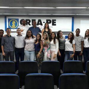 CREA Jr PE elege novos coordenadores para o exercício de 2018