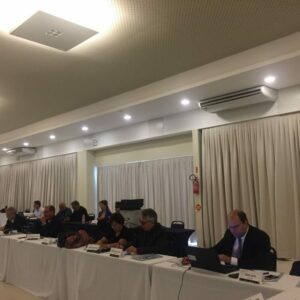 Presidente Evandro participa da última reunião do CP em Florianópolis