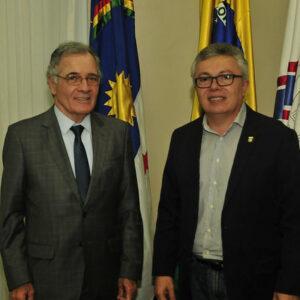 Evandro Alencar é recebido pelo Presidente do TJPE