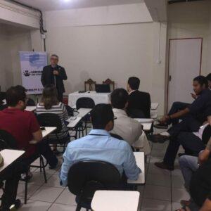 """Em visita à Salgueiro para o """"Conversa com o Presidente"""", Evandro Alencar assina termo para construção do prédio que abrigará a Inspetoria Regional no município"""