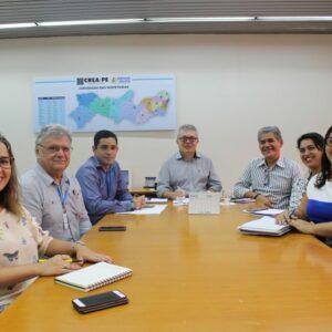 CREA-PE e Secretaria de Justiça e Direitos Humanos de Pernambuco dialogam sobre parceria