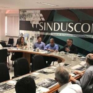 Evandro Alencar visita SINDUSCON-PE e reforça aproximação entre as entidades
