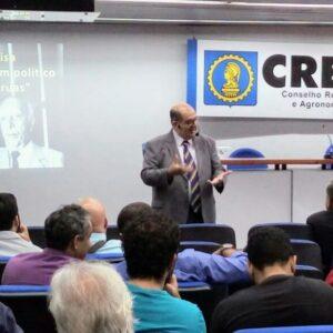No projeto Terça no CREA, Ney Araújo fomenta debate sobre reformas Previdenciária e Trabalhista