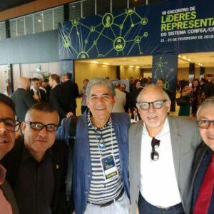 Evandro Alencar comparece ao Encontro de Líderes do Sistema Confea/CREA e Mútua, em Brasília