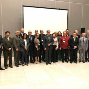 Evandro Alencar participa de reunião do Colégio de Presidentes em Brasília