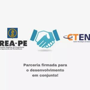CREA-PE e Centro Tecnológico de Ensino (CTEN) celebram parceria