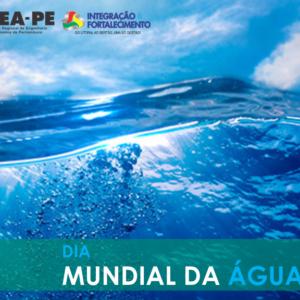 No dia 22 de março o mundo celebra o Dia Mundial da Água