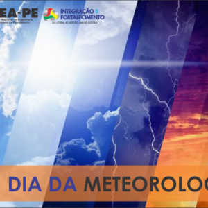 Neste 23 de Março, celebramos o Dia da Meteorologia
