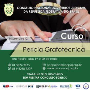 CONPEJ oferece curso em Perícia Grafotécnica