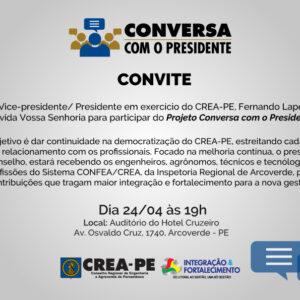 Conversa com o Presidente chega a Arcoverde