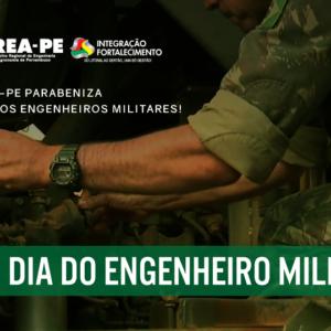 CREA-PE parabeniza profissionais pelo dia da Engenharia Militar