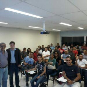 CREA-PE e CREA Jr realizam palestra com alunos da Faculdade dos Guararapes