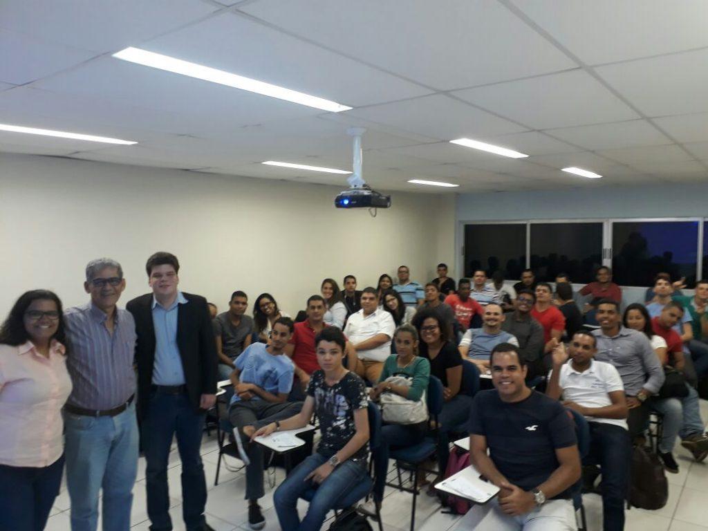 Read more about the article CREA-PE e CREA Jr realizam palestra com alunos da Faculdade dos Guararapes