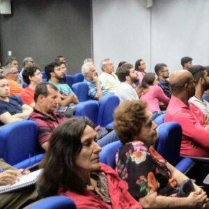 Propriedade intelectual foi tema de palestra no Terça no CREA