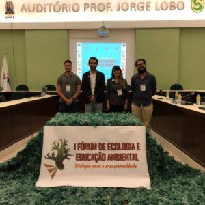 Conselheiro Emanuel Araújo representa CREA-PE no I Fórum de Ecologia e Educação Ambiental