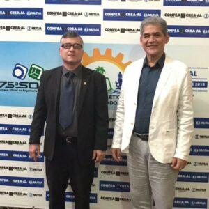 Representantes do CREA-PE participam da solenidade de lançamento da 75ª SOEA