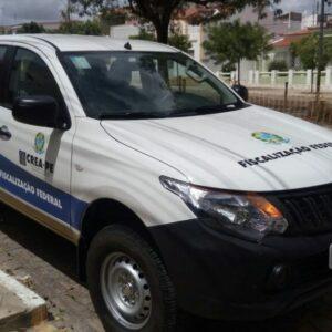 Novos veículos para a fiscalização são entregues pelo CREA-PE nas cidades de Petrolina e Araripina
