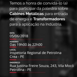 A Romagnole Produtos Elétricos promove palestra em Petrolina e Caruaru