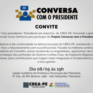 Palmares recebe o projeto Conversa com o Presidente