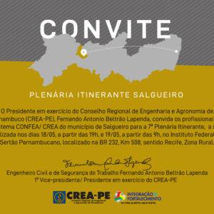 CREA-PE realiza 7ª Plenária Itinerante em Salgueiro
