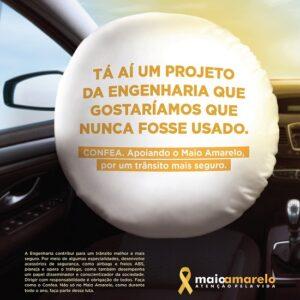Maio Amarelo: Confea na luta pela segurança no trânsito