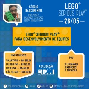 PMI oferece Workshop Lego® Serious Play®