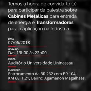 A Romagnole Produtos Elétricos promove palestra em Caruaru