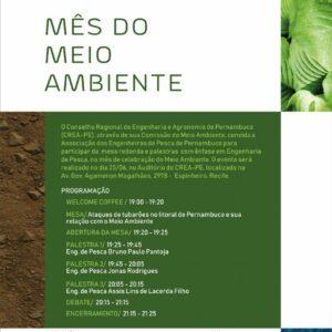 CREA-PE dá continuidade nas comemorações do Meio Ambiente