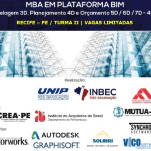 MBA em Plataforma BIM é oferecido pelo INBEC