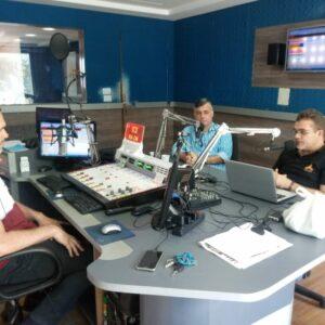 Presidente em exercício visita o município de Afogados da Ingazeira e concede entrevista à Rádio Afogados FM