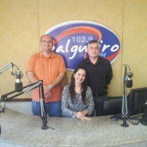 O município de Salgueiro recebeu o Presidente em exercício do CREA-PE