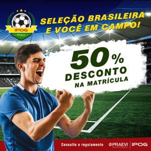 IPOG oferece descontos especiais durante a Copa do Mundo
