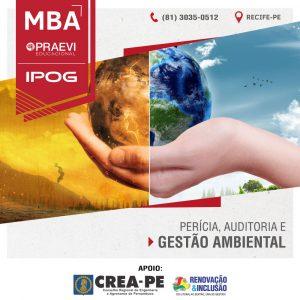 IPOG oferece MBA Perícia, Auditoria & Gestão Ambiental