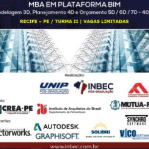 Inbec oferece MBA em Plataforma BIM