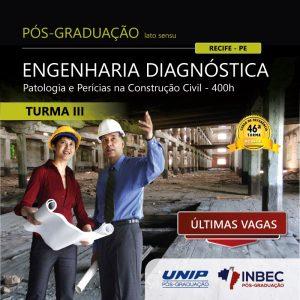 INBEC está com últimas vagas para o curso de pós-graduação em Engenharia Diagnóstica