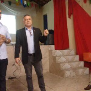 Presidente em exercício, Fernando Lapenda, conclui ciclo de palestras e visita Câmara Municipal de Gravatá