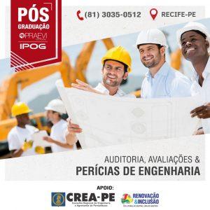 IPOG oferece pós-graduação em Auditoria, Avaliações e Perícias de Engenharia