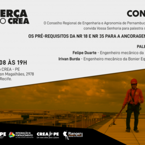 Normas Brasileiras de Segurança serão debatidas no Terça no CREA