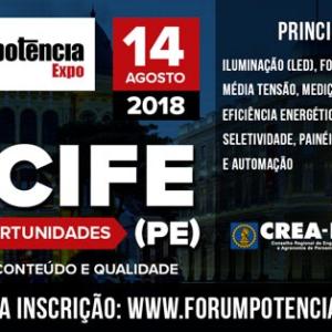 FÓRUM & EXPO POTÊNCIA – etapa Recife