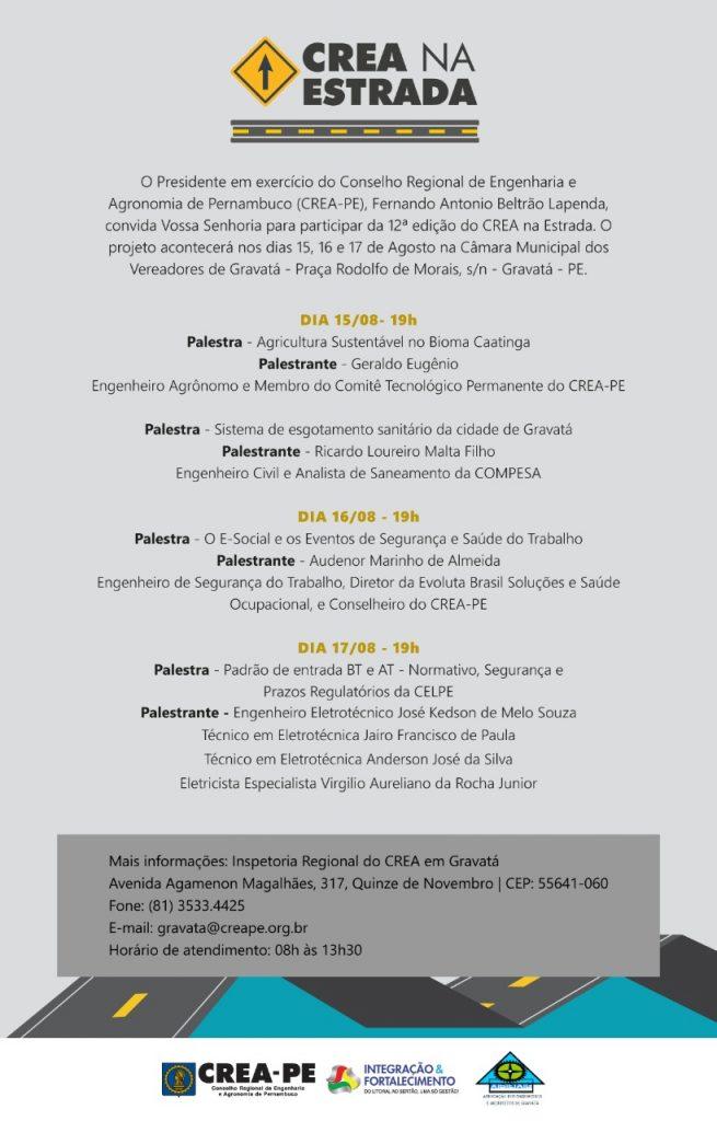 Read more about the article CREA na Estrada realiza 12ª edição em Gravatá