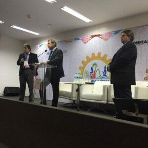 Presidente Joel Krüger é sabatinado em reunião nacional das coordenadorias de CEEC na 75ª Soea