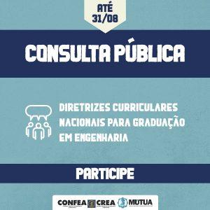 Confea critica forma e conteúdo de Consulta Pública sobre Diretrizes Curriculares Nacionais de graduação em Engenharia