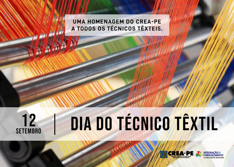 Read more about the article 12 de setembro  – Dia do Técnico Têxtil